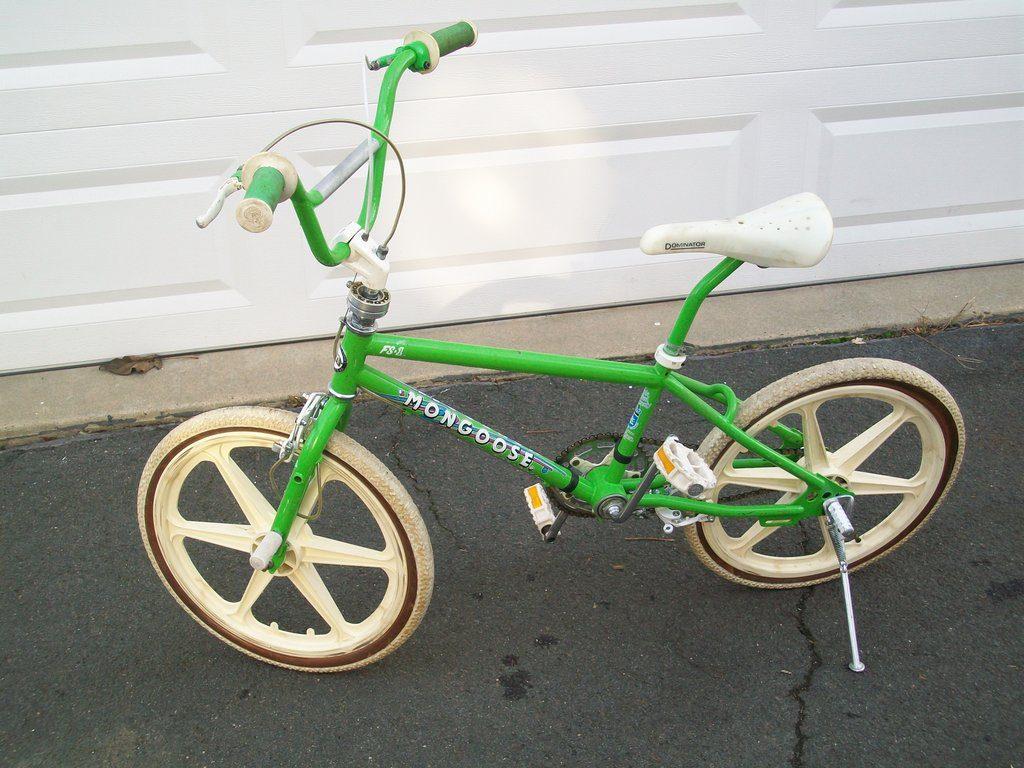 green 1986 mongoose